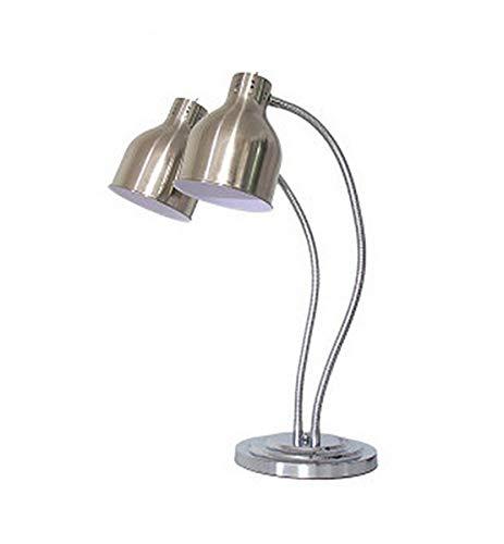 Buffet Essentials Display Heizung Aufbewahrung Licht Kommerziell Tragbar Professionelle Wärmelampe Speisenwärmer Mehrfarbig Optional,Silver ()