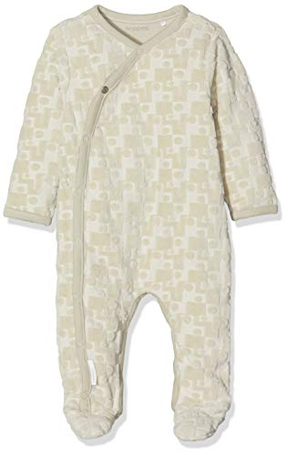 Noppies Baby-Unisex Spieler U Playsuit ls Tiffin, Beige (Dove C012), 74