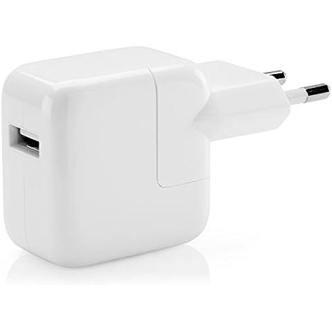 Apple MD836ZM - Adaptador de corriente USB de 12 W, blanco