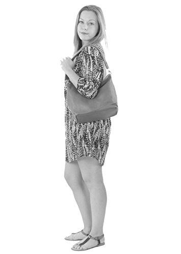 Tienda De Descuento Barato histoireDaccessoires - Borsa Pelle Donna Portata sulla Spalla - SA094623GO-Amanda Beige Descuento Del 100% Original ctbR6uA6