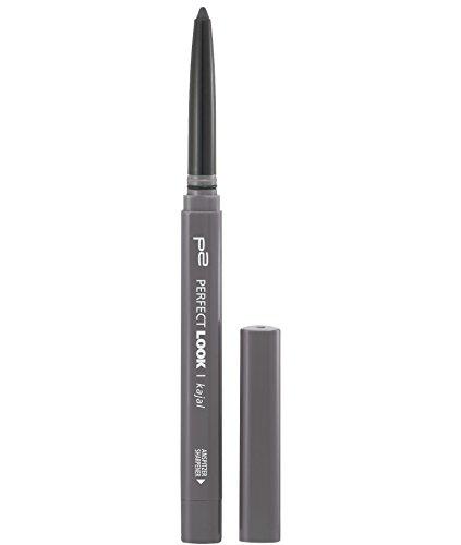 p2 cosmetics Perfect Look Kajal Waterproof 280, 3er Pack (3 x 3 g)