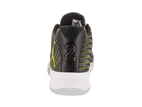 Nike Herren Jordan B. Fly Basketballschuhe, Schwarz Black/Opti Yellow/Wolf Grey