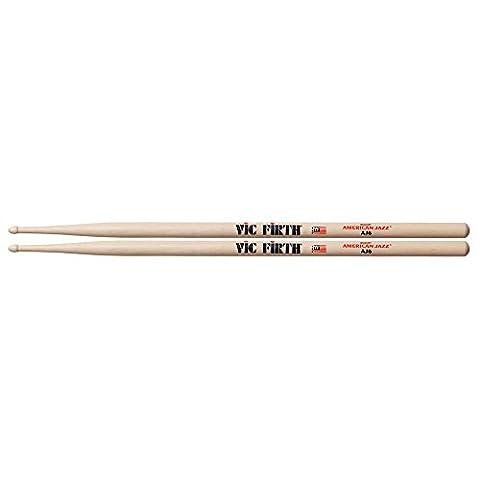 Vic Firth VFAJ6 American Jazz 6 Wood Tip Drumsticks