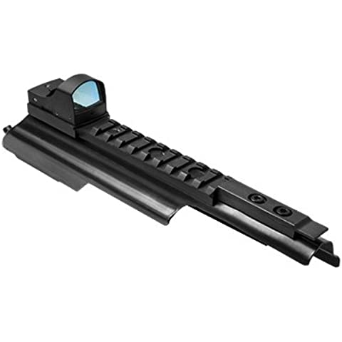 AK47 Scope Mount Rail with Micro Green Dot Reflex Sight by m1surplus