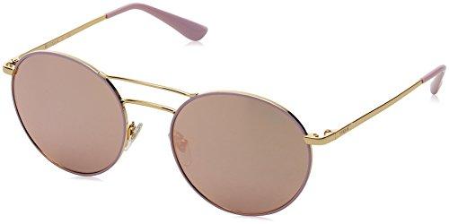 Vogue Eyewear Damen 0VO4061S 50245R 52 Sonnenbrille, Gold/Pink/Greymirrorrosegold