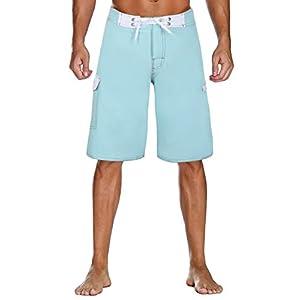 Nonwe Herren Sportwear Quick Dry Boardshorts mit Futter