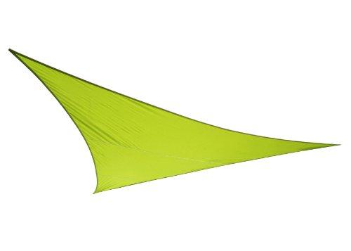 Voile d'Ombrage Vert Citron Triangle 5m - Imperméable - 160g/m2 - Kookaburra