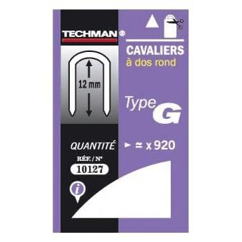 AGRAFE CAVALIER TYPE G T25 14MM