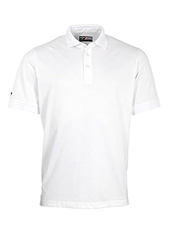 Callaway Golf Opti-Dri Polo Shirt White Small