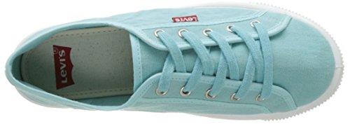 Levi's Malibu, Scarpe da Ginnastica Basse Donna Blu (Light Blue)