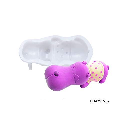 MoonyLI 3D Hund Mousse kuchenform DIY EIS Fondant Schokolade silikon Hund geformte Form backen Dekoration Zucker Paste Polymer Clay Handwerk Werkzeuge DIY Machen Werkzeug