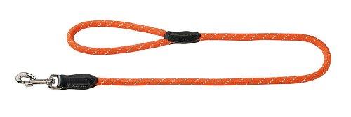 Hunter Hundeführleine Freestyle Reflect, 1,2/110 cm, orange -