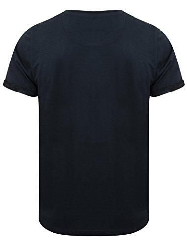 Tokyo Laundry Herren T-Shirt 1C9112_Akamu_True_Navy