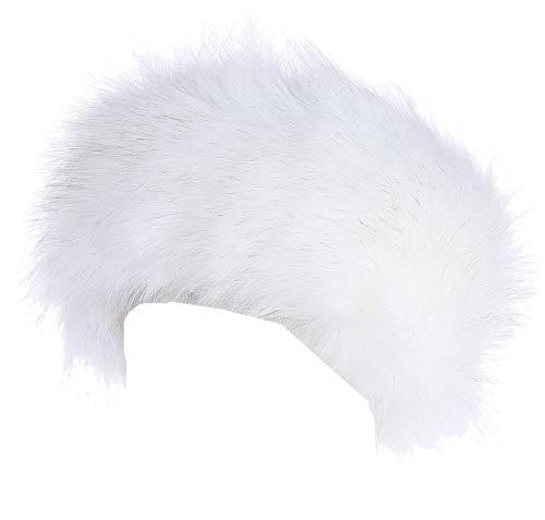 Soul Young fascia paraorecchie invernale da donna in finta pelliccia con cerchietto
