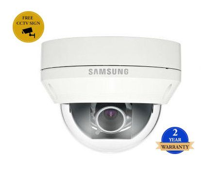 SS408 - SAMSUNG SCV-5082 1000TVL WDR vandalismusgeschützte CCTV-DOME-KAMERA DAY & NIGHT 3,3fach Vario-Objektiv IP66 wetterfest HIGH RESOLUTION