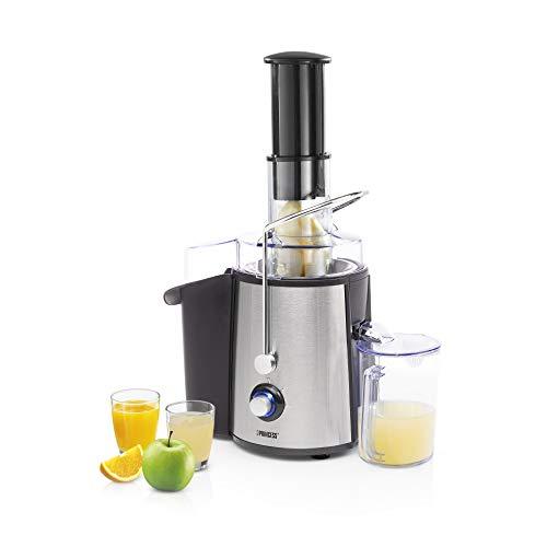 Princess 01.203040.01.002 - Exprimidor de frutas y verduras, 2 velocidades, 700 V, 2.8 L, acero inoxidable...