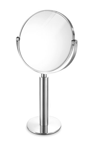 Zack 40114'FELICE Kosmetikspiegel, Edelstahl matt