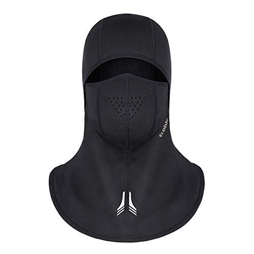 Laxus Pasamontañas Moto Negro Impermeable Snowboard Ciclismo Esquí Máscara Facial de Deportes...