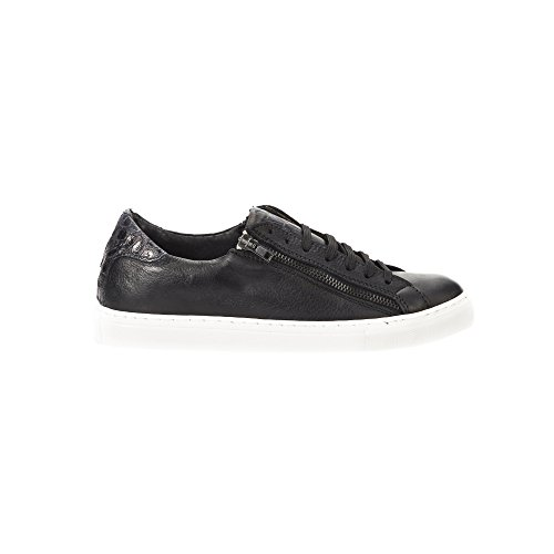 UominiItaliani - Chaussures Hommes SneakersMade in Italy - Mod. D12 HANVEN Noir
