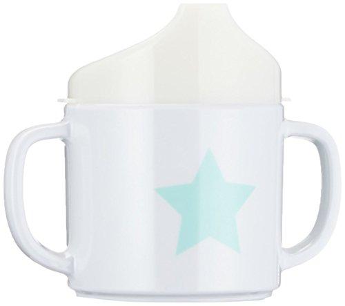 Lässig Dish Cup Melamin Tasse Trinkbecher mit Henkel Schnabeltasse aus 100{120814fa0383267d7ac55a5127fab766213141c1e16c73305531ffddfc66f57e} Melamin BPA-frei und rutschfest, Starlight magenta