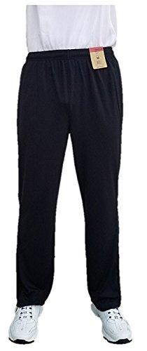 Men's Reebok Athletic Mesh Pants (XL, Black/Grey) -