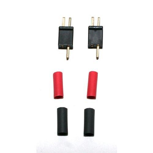 Deans Micro Plug Connector Polarized 2B # 1221 by Deans Polarized Connector