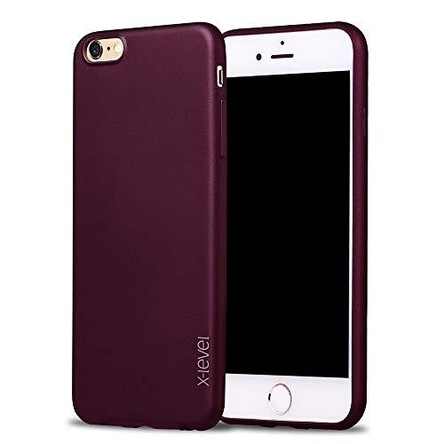 X-level Funda para iPhone 6 / 6S Compatibilidad: El Diseñado de la carcasa para iPhone 6 / 6S Caracteristicas de la Funda de iPhone 6 / 6S:  - Materiales de alta calidad: suave, flexible, delgada.  - Diseño elegante: color sólido, estilo minimalist...