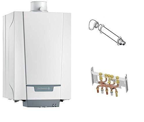 DE DIETRICH - Chaudière à gaz condensation - PMCX 24/28 MI PLUS- Complète