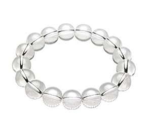 E821 Bracelet en cristal 10 mm cristal Bracelet Pierre Naturelle-Pour homme et femme