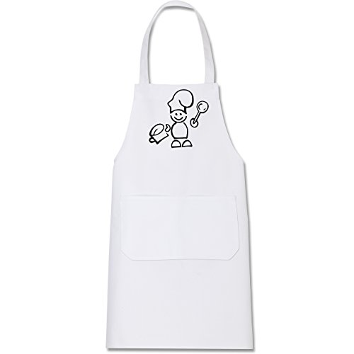 Shirtracer Küche – Koch – Kochschürze mit Tasche