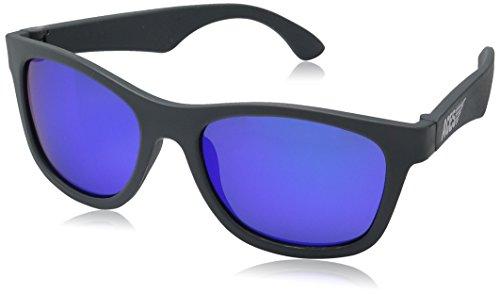 Preisvergleich Produktbild Aces by Babiators Kinder Sonnenbrille Navigator, UV-Schutz, ab 6-13 Jahre, BPA frei, Galactic Grey, Blue Lenses