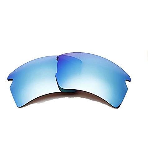 Sonnenbrillengläser, polarisierte Ersatzgläser für Oakley Flak 2.0 XL (Ice Blue)