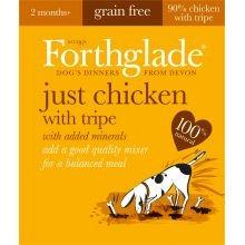 PET-538175 Forthglade Natur Menü Huhn mit Kutteln - GRAIN FREE (395g) 18-Pack (Huhn Protein)