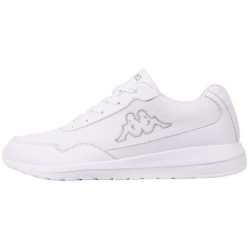 Kappa Unisex-Erwachsene Follow OC Sneaker, Weiß (White/L´Grey 1016), 45 EU