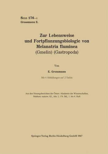 Price comparison product image Zur Lebensweise Und Fortpflanzungsbiologie Von Melanatria Fluminea (Gmelin) (Gastropoda)