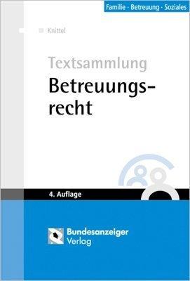 Cover »Betreuungsrecht«
