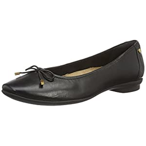 Clarks Women's Candra Light Leather Ballet Flats