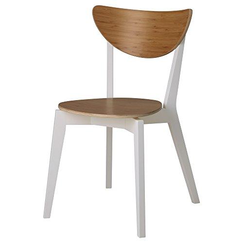 ZigZag Trading Ltd Ikea nordmyra–Stuhl, Bambus/weiß