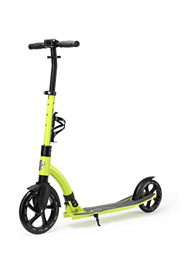 Star-Scooter 230 mm Premium Big Wheel Monopattino Kickscooter Scooter da città richiudibile per adulti e ragazzi da ca. 8 anni d'età ★ Ultimate Edition ★ Verde