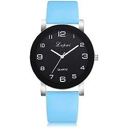 Relojes para Mujer Reloj Damas de Malla Impermeable Minimalista Elegante Banda de Relojes de Pulsera Moda Vestir Negocio Casual Reloj de Cuarzo Mujer Cuarzo Romana Cuero de Imitación Relojes Regalo