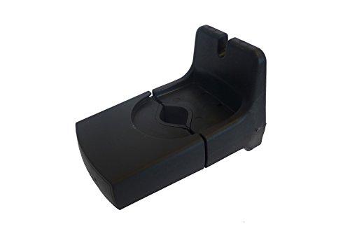 Yepp Mini Zubehör Ersatzhalterung Für Kindersitz, schwarz, One Size