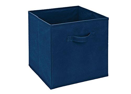 plegable-tela-almacenamiento-cube-blue