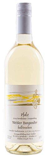 Pflzer-Weiwein-Weiburgunder-halbtrocken-1-x-075-L-Flasche-direkt-vom-Winzer