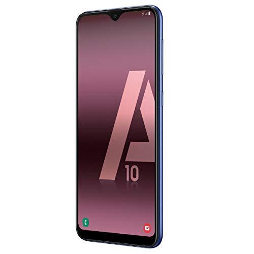 """Samsung Galaxy A10 - Smartphone de 6.2"""" HD Infinity (32 GB, Dual-SIM, 3400 mAh), Color Negro [Versión española]"""
