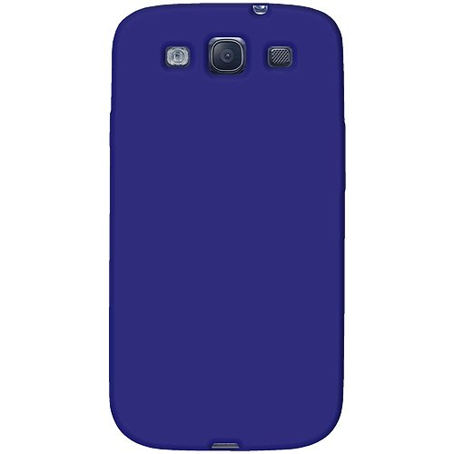 Amzer AMZ93954 Skin Jelly Case for Samsung Galaxy S3 Neo and S III GT-I9300 (Blue)  available at amazon for Rs.239