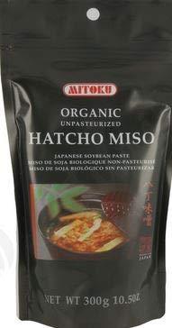 hatcho Miso Bio non pasteurizado Mitoku, 300g