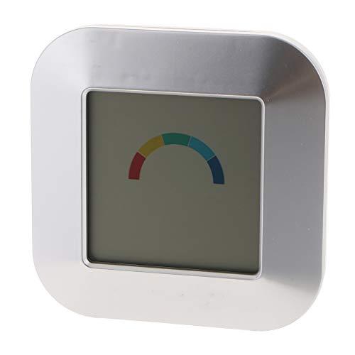 Indoor Digital Hygrometer, Elektronische Wetteruhr Mit Touch Funktion (Non-digital-wecker)