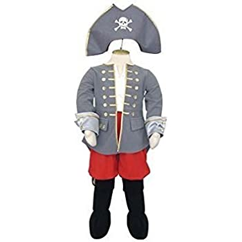 Boys Children Pirate Captain - Kids Costume Size 3-5 Years
