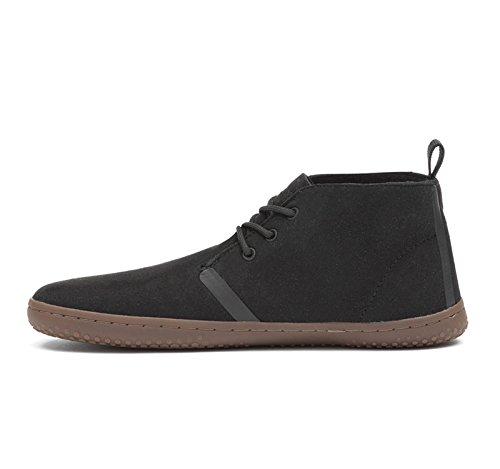 Chaussures Vivobarefoot Gobi II Eco Suede Noir Femme Black