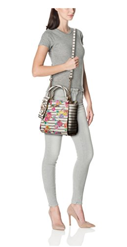 Floral to Johnson the Metal White Betsey Borsa Petal donna U8wq7vZxt